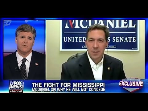 • Chris McDaniel • Will Not Concede Election • Hannity • 6/26/14 •