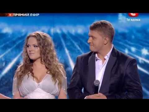 Видео, Х-фактор-2 Галаконцерт. Мария Рак и Алексей Кузнецов