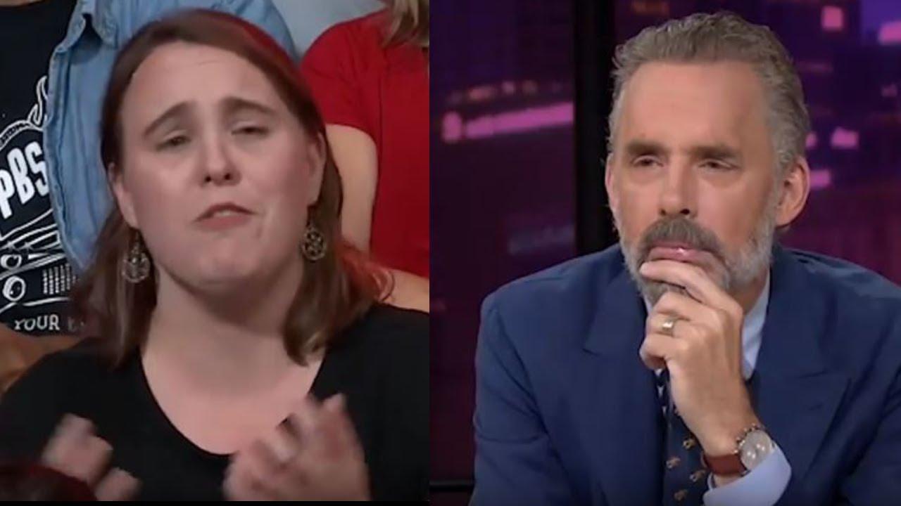 Disrespectful SJW asks about global problems Jordan Peterson