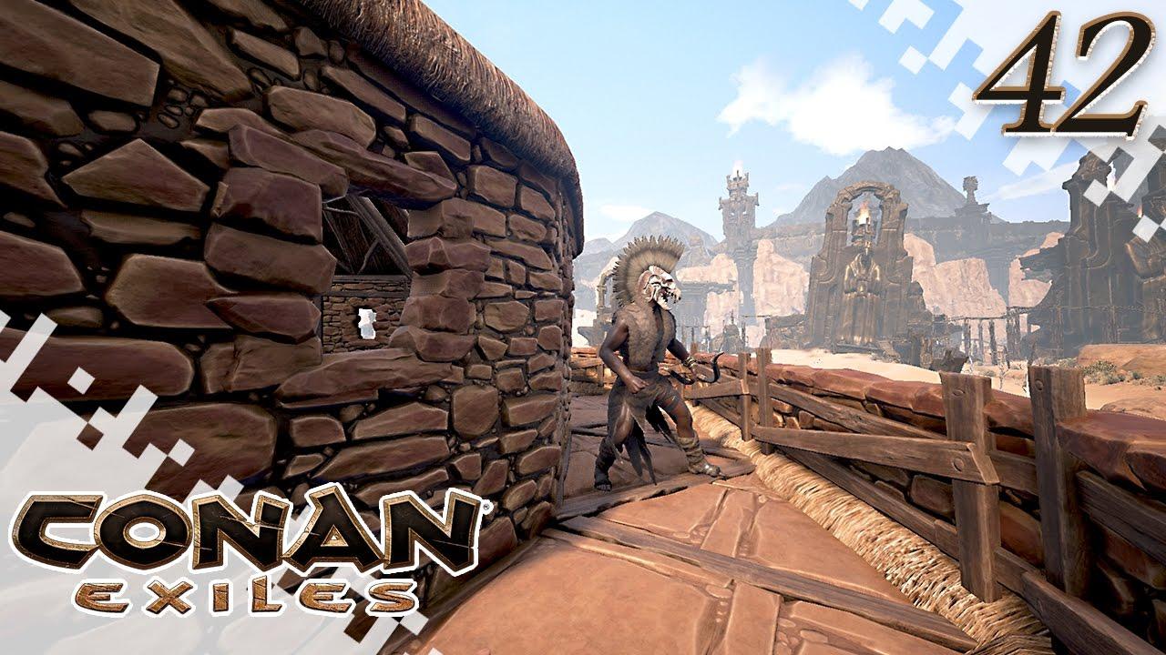conan exiles market work ep42 gameplay youtube. Black Bedroom Furniture Sets. Home Design Ideas