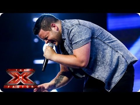Paul Akister sings A Song For You by Christina -- Arena Auditions Week 4 -- The X Factor 2013