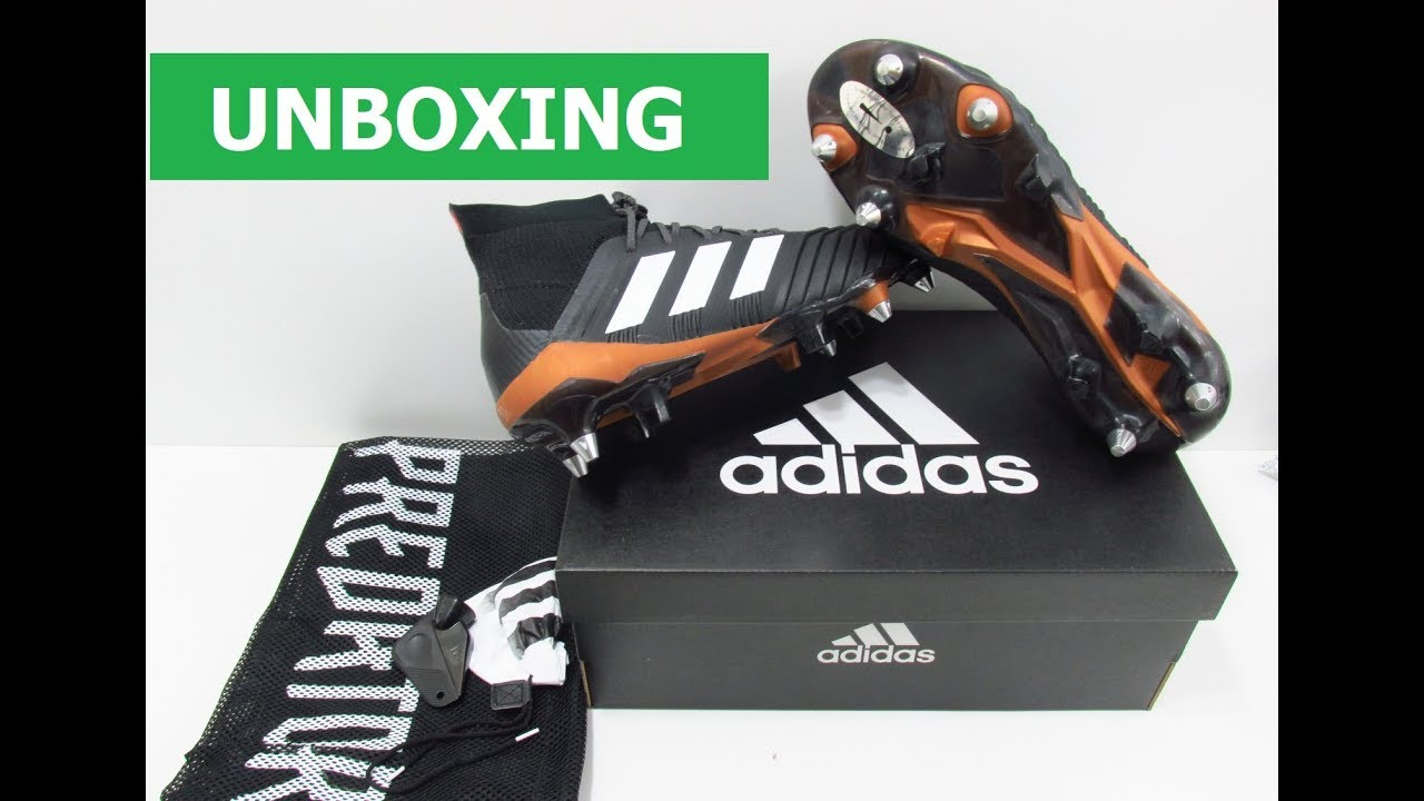4012c4a798 UNBOXING ADIDAS PREDATOR 18.1 SG CP9260 FOOTBALL BOOTS. Old Firm Esportes