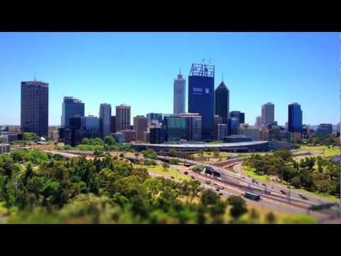 Didgeridoo music by Yas with timelapse movie - Perth, Western Australia