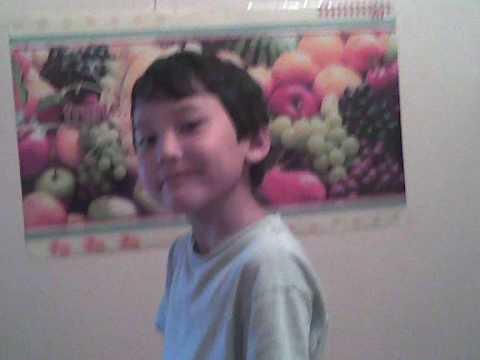 Kyrgyz boy in Paris