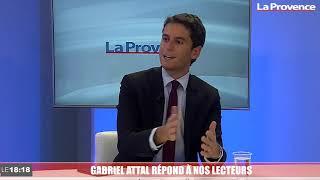 Couvre-feu, crise sanitaire, radicalisme... Gabriel Attal a répondu aux questions des Provençaux