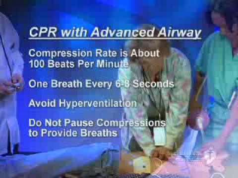 2 Rescuer CPR with Advanced Airway