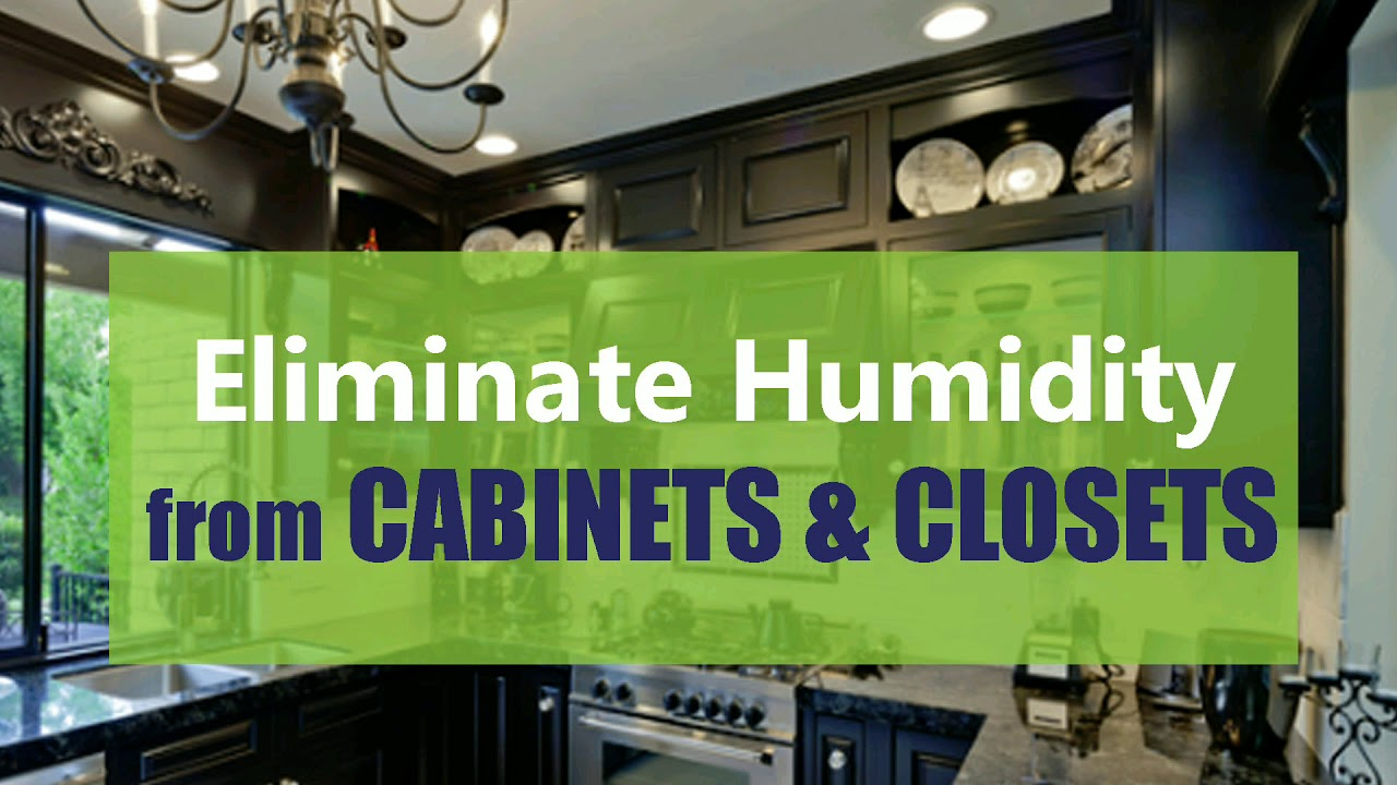 Eliminate musty smelling from cabinets and closets - YouTube