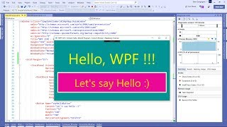 Visual Studio 2019 WPF C#) Hoe Maakt u een Eenvoudige Hello World-Programma (+ Source Code)
