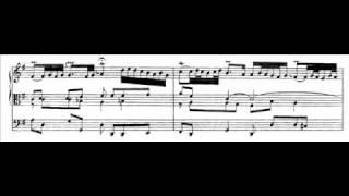 J.S. Bach - BWV 641 - Wenn wir in höchsten Nöten sein