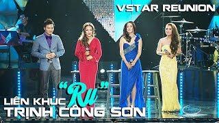 """LK """"Ru"""" (Trịnh Công Sơn) Thu Phương, Thanh Hà, Mỹ Hạnh, Đình Bảo - VSTAR Reunion"""