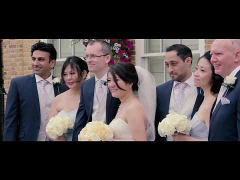 Connie & Toby - Orsett Hall Hotel