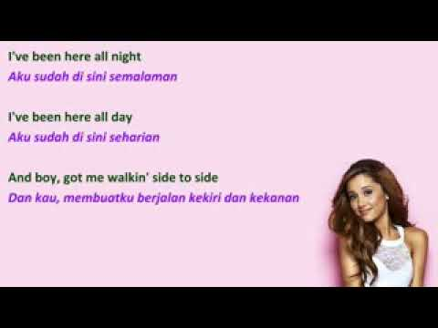 Lirik lagu - side to side By ArianaGrande