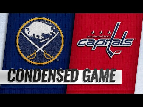 12/21/18 Condensed Game: Sabres @ Capitals