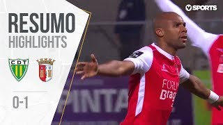 Highlights | Resumo: Tondela 0-1 Sp. Braga (Liga 18/19 #12)