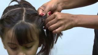 Amisha Kiri Hitt KIDS   Hair style Video
