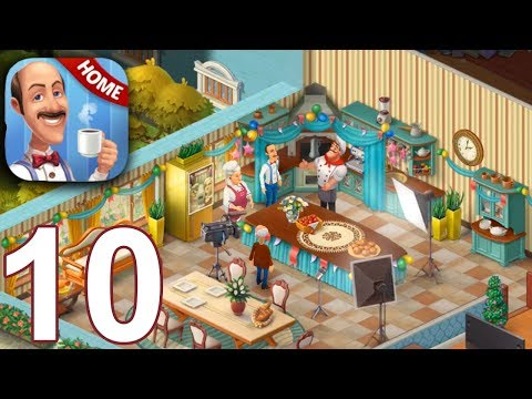 HOMESCAPES Story Walkthrough Gameplay Part 10 - Day 10 (iOS Android)