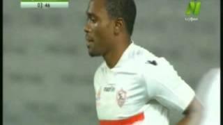 معروف يوسف يهدر فرصة الهدف الأول للزمالك أمام الأهلي (فيديو)