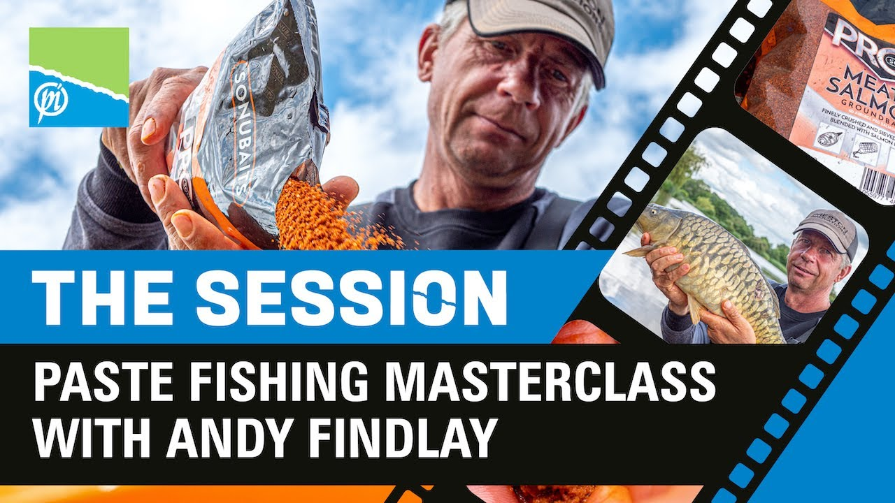 THE SESSION | Paste Fishing Masterclass With Andy Findlay | Preston Innovations