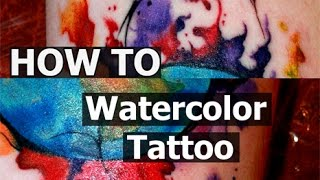 """Video #Tattoo techniques - #watercolor - """"time lapse"""" - process tattooing download MP3, 3GP, MP4, WEBM, AVI, FLV Agustus 2018"""
