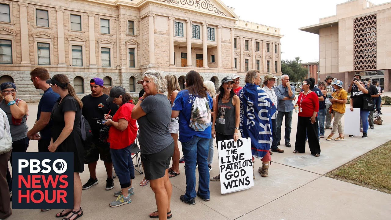The Discredited GOP Election Review In Arizona's Largest County ...