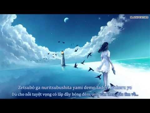 [ Vietsub + Lyrics ]End Gazer   OP XBlaze ( Haruka Shimotsuki )