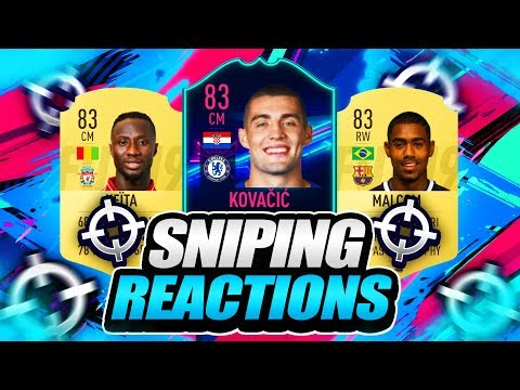 FIFA 19  SNIPING FUTURE ONES TO WATCH CARDS  SNIPING REACTIONS EP1