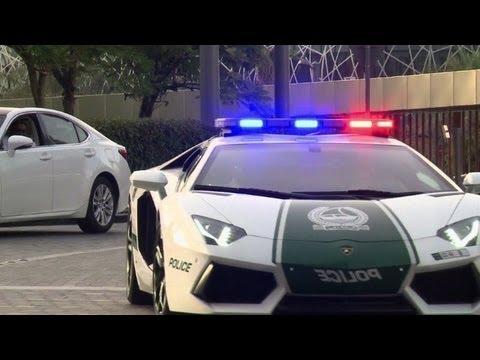 Dubai Police Flaunt Lamborghini Patrol Car Youtube