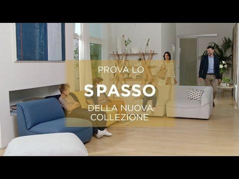 Divani&Divani by Natuzzi - Divano SPASSO - YouTube