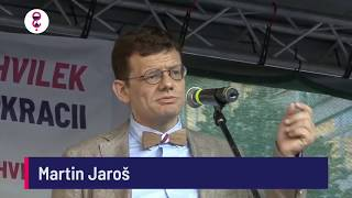 Demonstrace 5. 6. 2018 - Martin Jaroš