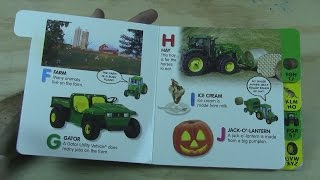 Book Reading Video FARM ABC l Tractors l Plows l Animals!