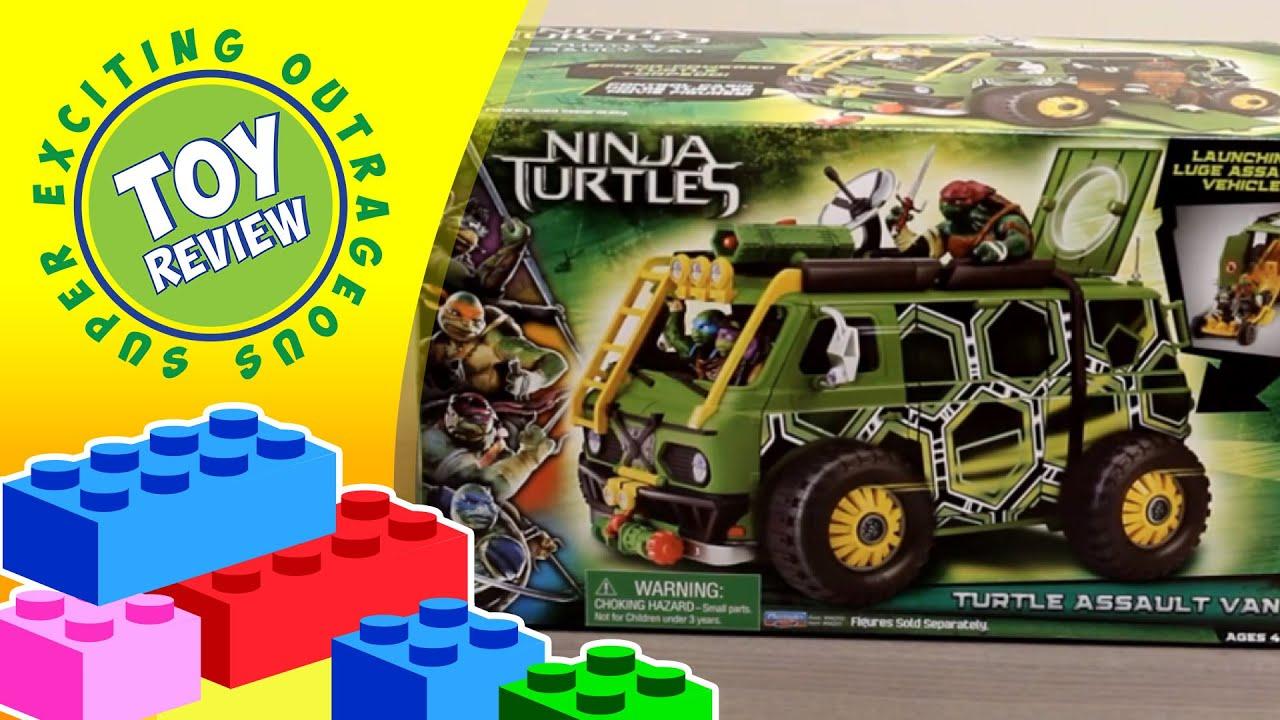 Teenage Mutant Ninja Turtles Movie Turtle Assault Van