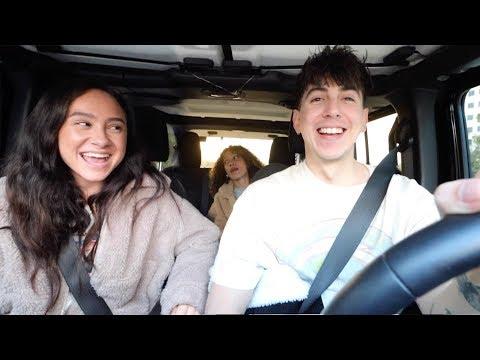 CHRISTMAS CAR RIDES with FRANNY & NEZZA!! (Christmas Wishlist)