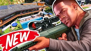 FRANKLIN'S NEW HOUSE MANSION! | GTA 5 (Grand Theft Auto V) - Gameplay Walkthrough Part 10 (PS4 Pro)