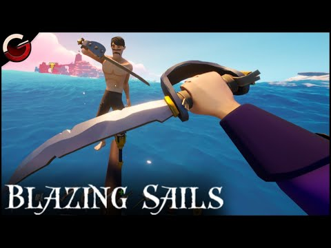 PREPARE FOR THE SEA FIGHT! Funny Flying Dutchman Ship | Blazing Sails: Pirate Battle Royale Gameplay |