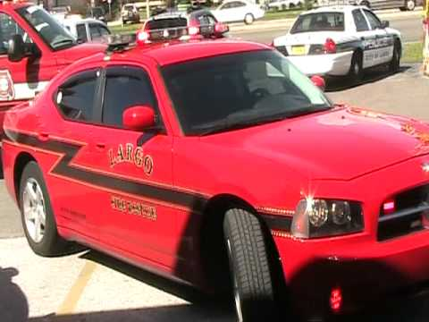 CITY BOUGHT THE FIRE CHIEF 2011 DODGE CHARGER TO GO ON CALLS IN AND TAKE  HOME