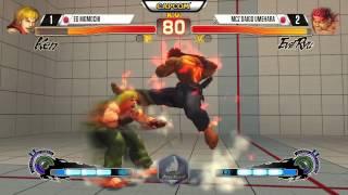 "Daigo ""The beast"" Umehara Combo 25 hits - Evil Ryu"