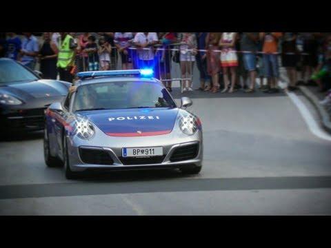 Porsche 911 - Polizei Österreich - BP 911 beim Sportwagenfestival Velden 2017