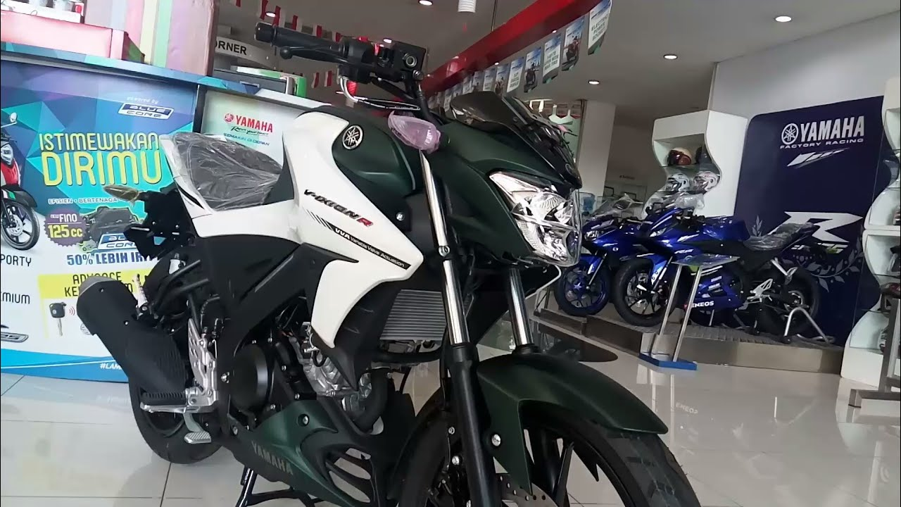 All New Vixion R 155 Cc Hijau Army YouTube