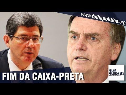 FIM DA CAIXA-PRETA: Presidente do BNDES indicado por Bolsonaro e Guedes faz discurso contundente e..