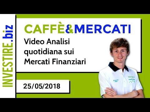 Caffè&Mercati - Il Dax rimbalza sul minimo della scorsa settimana