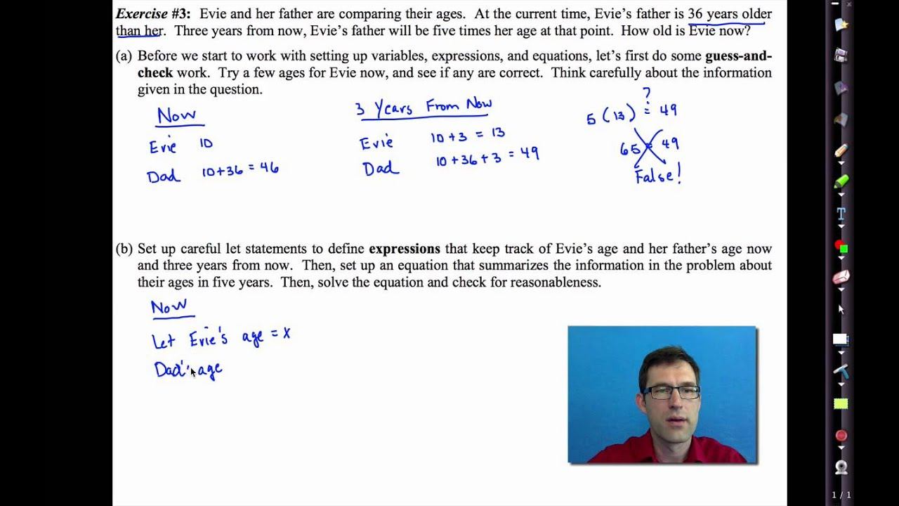 Common core algebra iunit 2lesson 5near word problems youtube youtube premium ibookread PDF