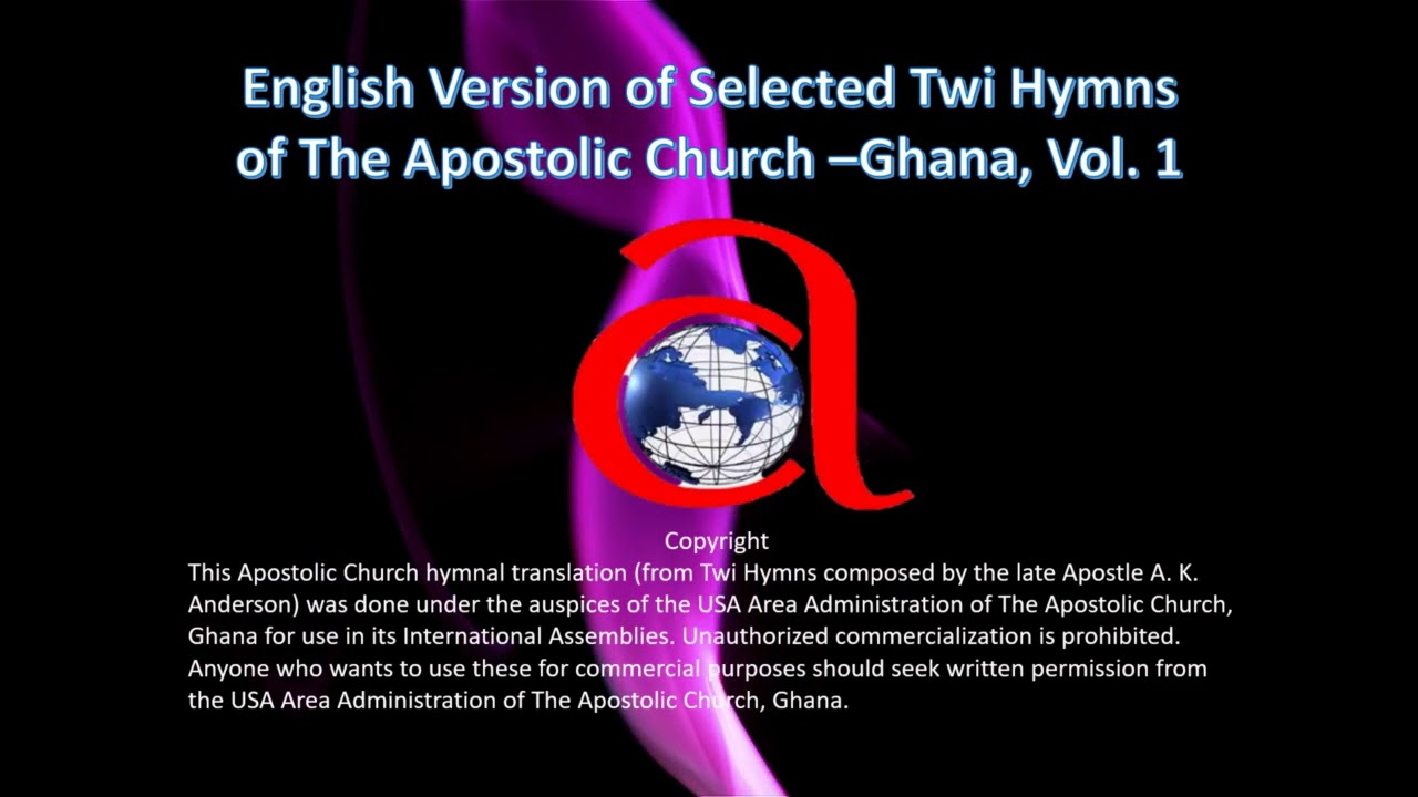 Selected translations of TAC twi Hymns