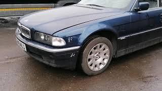 BMW 7 Series 1997: Обзор/тест автомобиля на разбор (машинокомплект) из Англии от...