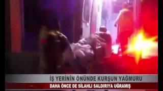 KOCAELİ TV - İŞ YERİNİN ÖNÜNDE KURŞUN YAĞMURU