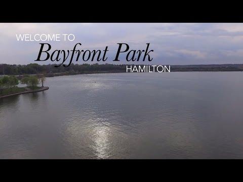 Bayfront Park - DJI Phantom 3 Drone Flight - Hamilton, Ontario, Canada