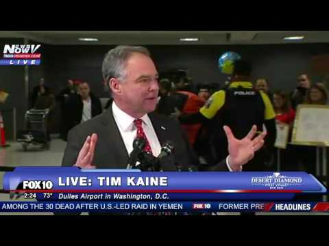 WATCH: Tim Kaine Calls President Trump