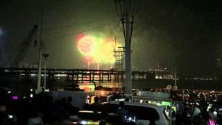 Busan fireworks festival 2015 part 1