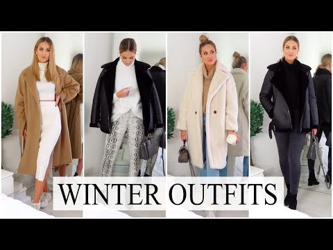 CASUAL WINTER OUTFIT IDEAS 2018 | COZY & WARM