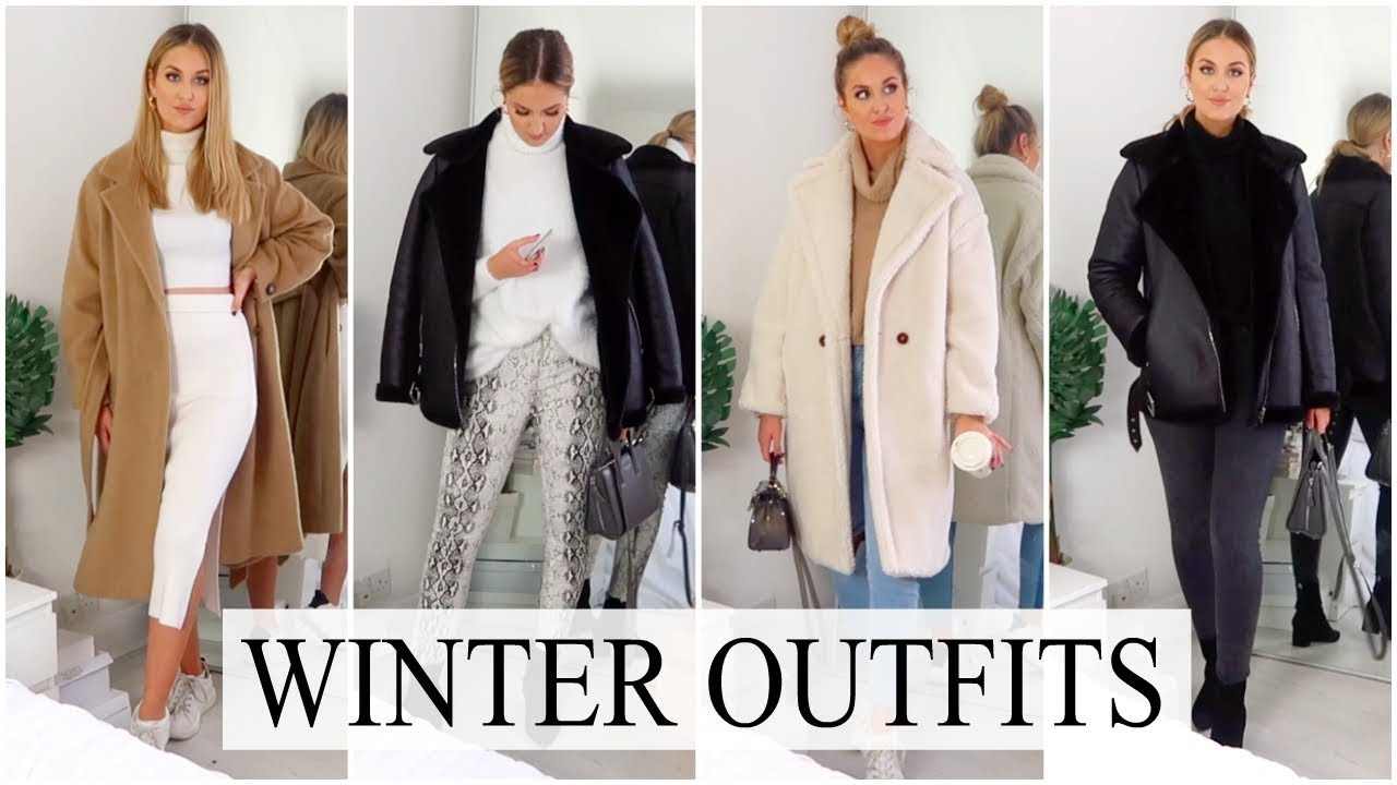 Casual Winter Outfit Ideas 2018 Cozy Warm Youtube