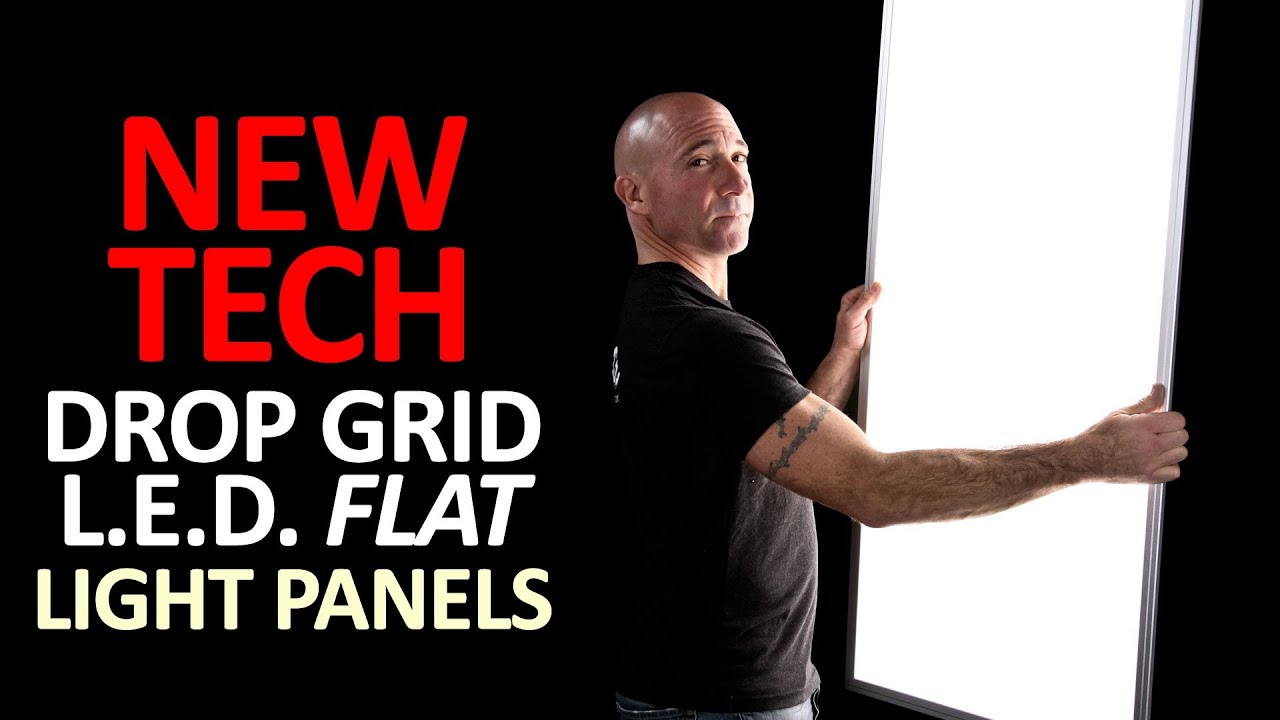 Drop Grid Led Flat Light Panels By Udecor